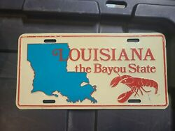 Collectable License Plate - Louisiana The Bayou State