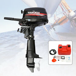 6.5 Hp 4 Stroke Outboard Motor Power Marine Boat Engine Water Cooling System