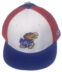 Vintage Kansas Jayhawks The Game Fitted Hat 7 3/8 Deadstock Rare Throwback Nwt