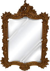 Hickory Manor House 7138ag Ornate English Mirror/antique Gold