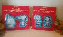 Snoopy Charlie Brown Lucy Cookie Cutters New In Package