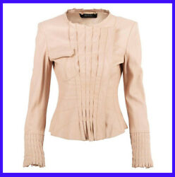 Vintage S/s 2004 Tom Ford For Nude Leather Jacket 38