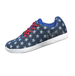 No Bull Project Red White Blue Flag Trainers Stars Unisex Shoes Men 6.5 Womens 8