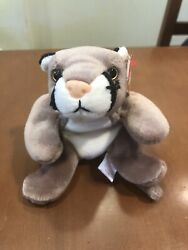 Collectible Ty Beanie Baby Canyon With Tag Errors