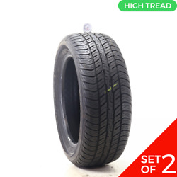Set Of 2 Used 235/55r18 Dunlop Conquest Touring 104v - 9-10.5/32