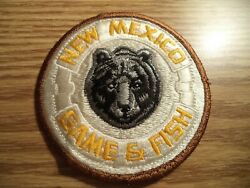 New Mexico Game amp; Fish Game Warden Patch Less common Brown border version