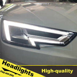 2016 Led Turn Signal Dynamic Headlights Assembly For Audi A4 One Set.