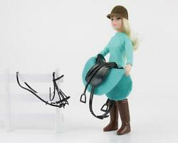 NEW Breyer English Horse Rider Heather Model with Tack