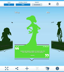 Topps Disney Collect - Daily Disney July 20 - Timon Silhouette Digital