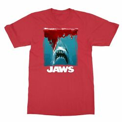 Jaws Movie 1975 Vintage Classic Shark Menand039s T-shirt