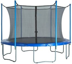 Upper Bounce Trampoline Safety Enclosure Net Fits 15 Ft Round Frame