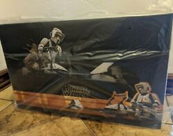 Hot Toys Tms017 The Mandalorian Scout Trooper And Speeder Bike 1/6 Scale