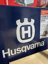 New Husqvarna 570bts 66-cc 2-cycle 236.2-mph Professional Gas Backpack Blower