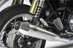 Zard Slip On Exhaust Stainless Steel Royal Enfield Continental Gt 650 2019