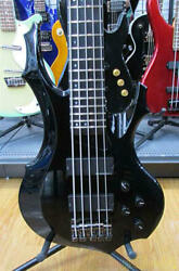 Esp Forest-std-sl5s S1118205 Electric Bass W/hard Case Ships Safely From Japan