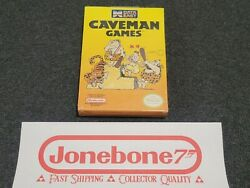 Nes Nintendo Caveman Games New Near Mint Factory Sealed Game Cave Man
