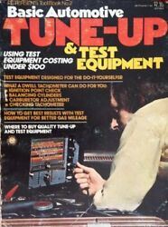 Basic Automotive Tune-up And Test Equipment Petersenand039s Tool By Kalton C Lahue New