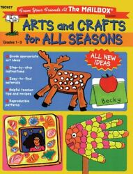 Arts And Crafts For All Seasons By Mailbox Books Staff Excellent Condition