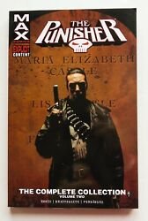 Punisher The Complete Collection Vol. 2 Max Marvel Graphic Novel Comic Book