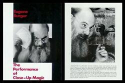 Performance Of Close-up Magic By Eugene Burger - Hardcover