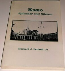 Kineo Splendor And Silence By Durward J Ferland Excellent Condition
