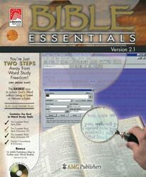 Amg Bible Essentials 2.1 By Libronix Digital Library System Mint Condition