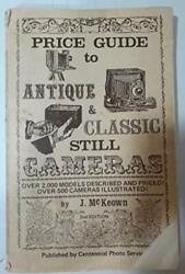 Price Guide To Antique And Classic Still Cameras By J. Mckeown Excellent