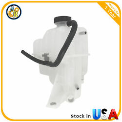 Radiator Coolant Overflow Tank Bottle With Cap For 2001-2007 Chevy Gmc