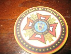 Vfw Challenge Coincolorfulveterans Of Foreign Wars Ruskin ,fl Post 6287