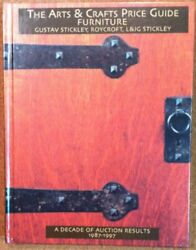 Arts And Crafts Price Guide Furniture Gustav Stickley By Treadway Gallery New