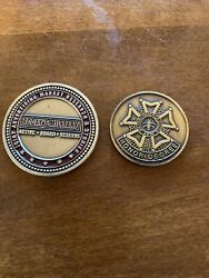 Challenge Cons Vfw And Research Coin Military