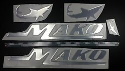 Mako Boat Emblem 22.5 + Free Fast Delivery Dhl Express - Stickers Decal