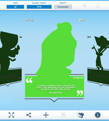 Topps Disney Collect - Daily Disney July 29 - The Emperor Silhouette Digital