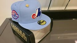 New Era 59fifty Montreal Expos Fitted Hat Capsule Exclusive Earth And Wind 7 3/4