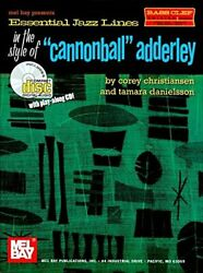 Mel Bay Essential Jazz Lines Bass Clef Cannonball Adderly By Corey Christiansen