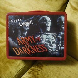 Neca Bruce Campbell Army Of Darkness Ltd. Edition Collectible Lunch Box Thermos