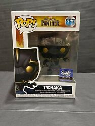 Funko Pop Hollywood Exclusive Black Panther Tand039chaka 867