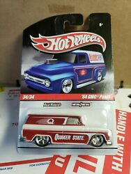 Hot Wheels Delivery '64 Gmc Panel Quaker State Car 1/64 Scale 34/34 Real Riders