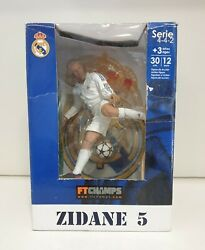 Ftchamps Zidane 5 Real Madrid Serie 4-4-2 Action Figure 12 Inch Official Product