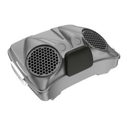 Charcoal Pearl Dual 8and039and039 Speaker Lids Fits Advanblack/harley Razor Tour Pak Pack