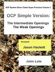 Ocp System Oliver Clarke Super Precision Volume 2 Simple By John Lute Brand New