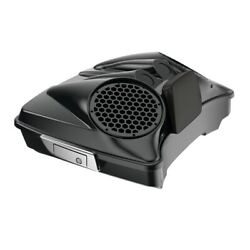 Midnight Pearl Dual 8and039and039 Speaker Lids Fits Advanblack/harley Razor Tour Pak Pack