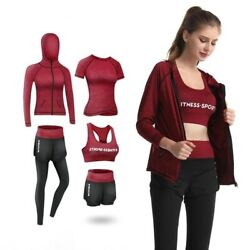 Women Workout Jogging Suits Sets Sportswear Gym Fitness Clothing Outdoor Running