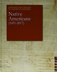 Defining Documents In American History - Native Americans By Salem Press Mint