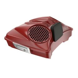 Red Hot Sunglo Dual 8and039and039 Speaker Lids Fits Advanblack/harley Razor Tour Pak Pack