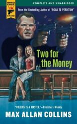 Two For Money Hard Case Crime Novels By Max Allan Collins Excellent Condition