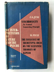 Carl Jung Interpretation of Nature and the Psyche: Synchronicity First Edition