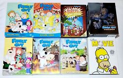 The Family Guy Star Wars Trilogy Blu-ray, Family Guy Dvd Sets, Simpsons Movie