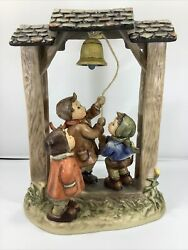 """Hummel Century Collection """"lets Tell The World"""" 487 Figurine W/ Coa And Box"""