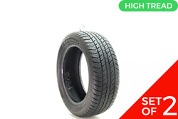 Set Of 2 Used 235/55r18 Dunlop Conquest Touring 104v - 9-9.5/32